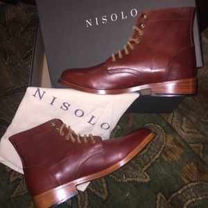 New Nisolo Trench Boot Leather Sole 10